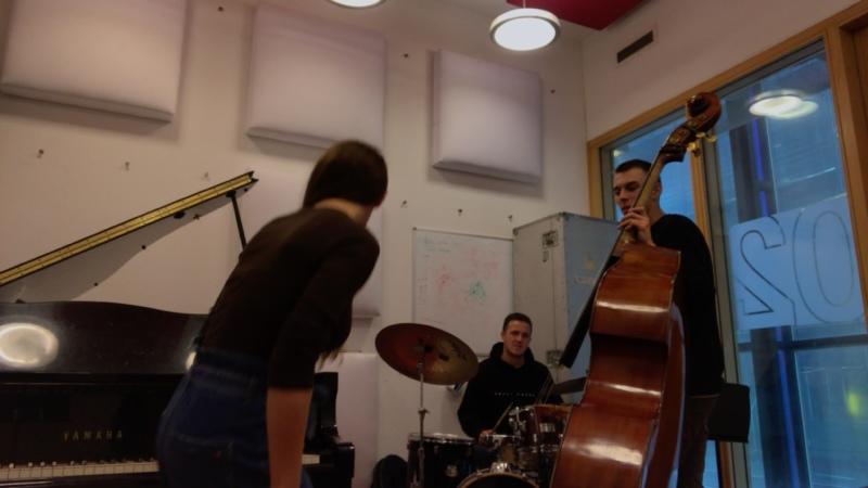 Мини джаз-концерт с одними из лучших музыкантов Амстердама🙂
