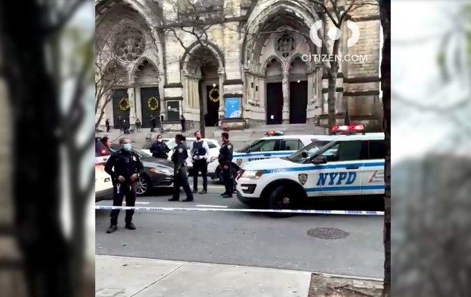 После рождественского концерта в соборе Святого Иоанна Богослова на Манхэттене в США произошла стрельба