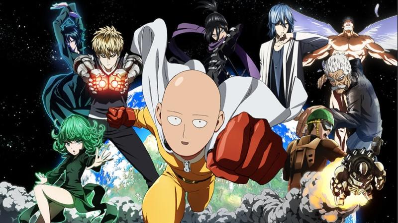 Аниме Ванпанчмен 1 сезон аниме марафон смотреть топ аниме все серии подряд