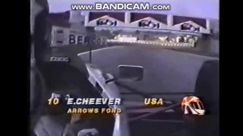Imola 89 Eddie Cheever USA onboard