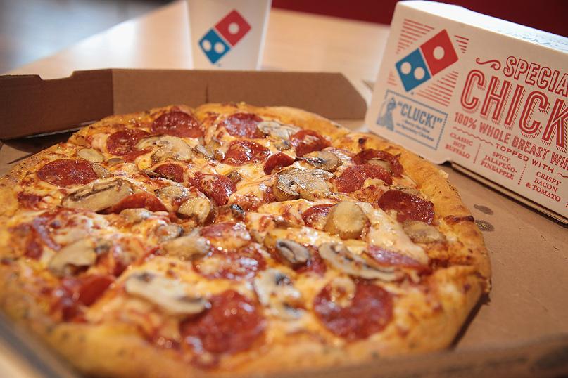Предложение для больших компаний от Domino's Pizza в бизнес-центре «Нагатинский»