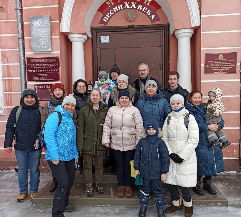 Члены круга Николая Фатьянова побывали на родине старшего скаутмастера Москвы Николая Ивановича Фатьянова