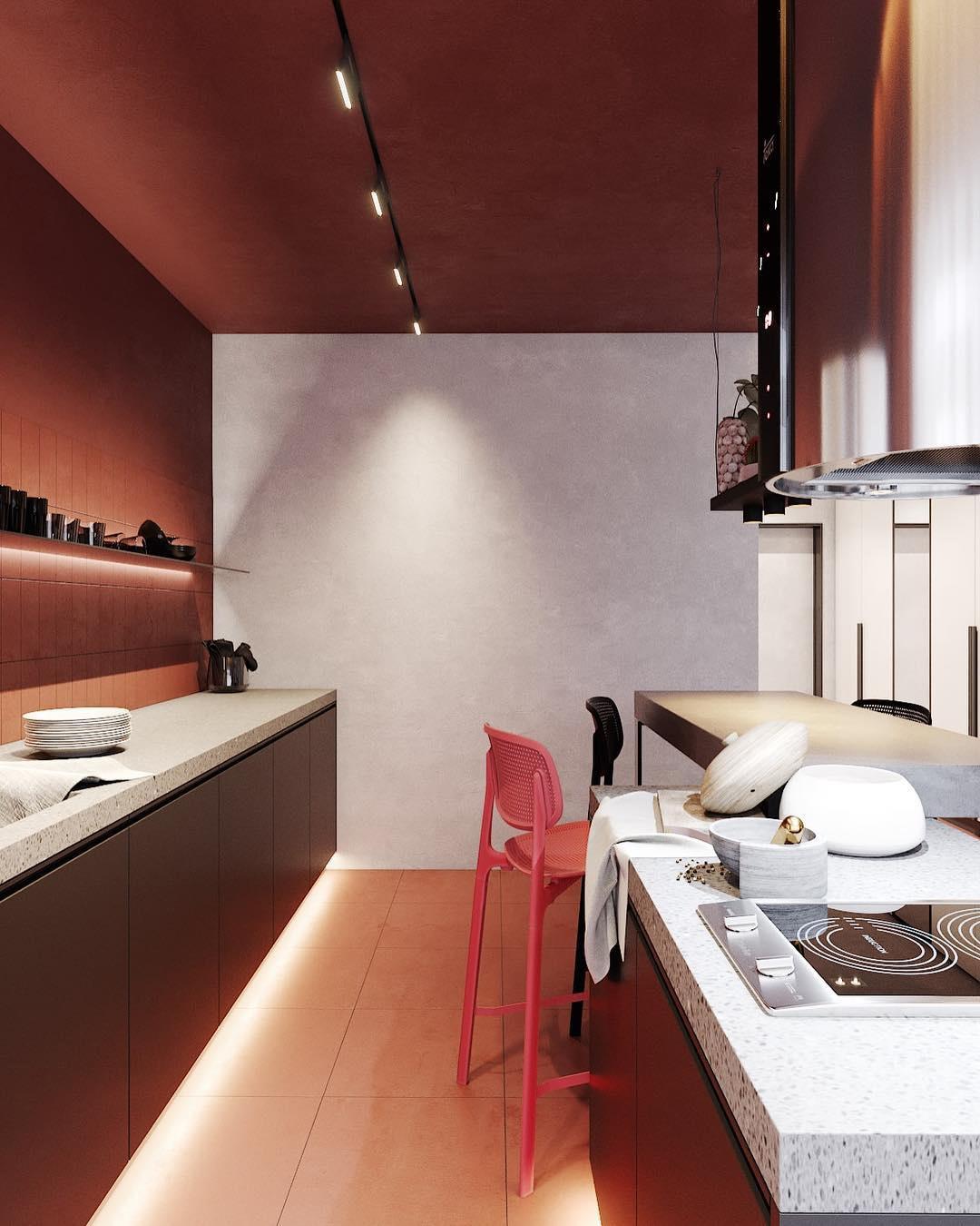 Перепланировка 1-комнатной квартиры в студию 52 кв.