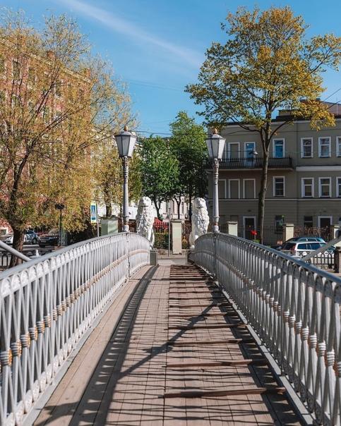 Львиный мост - архитектурное чудо начала XIX века ...