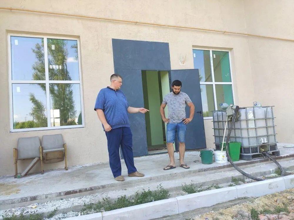 В Таволожке завершается ремонт сельского дома культуры