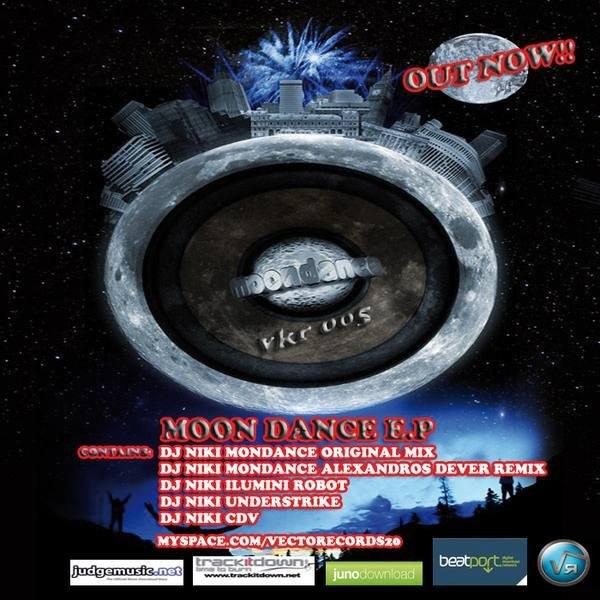 DJ Niki album Moon Dance EP