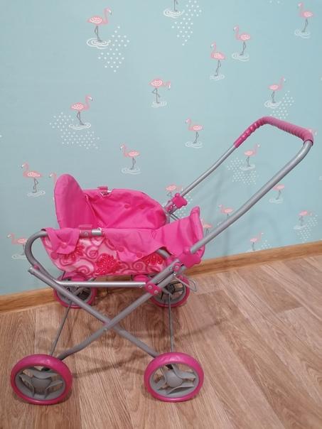 Продам за 500 рублей коляску для кукол с переноско...