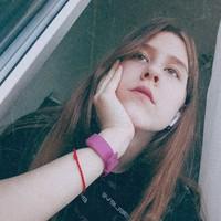 Фотография страницы Насти Аксёновой ВКонтакте