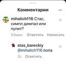 Барецкий Стас   Москва   13