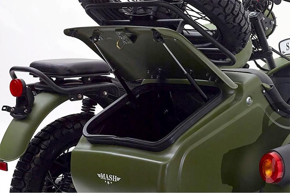 Мотоцикл Mash Side Force 400 с коляской
