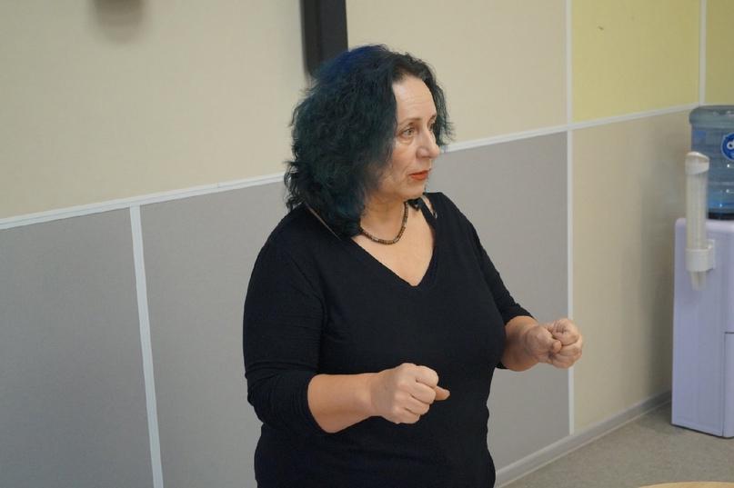 Элеонора Прояева на мастер-классе по сторителлигу