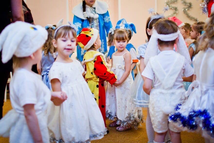 Новость по утренникам в детских садах в