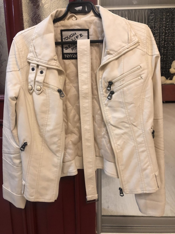 Отличная молодежная куртка из к/з | Объявления Орска и Новотроицка №18303