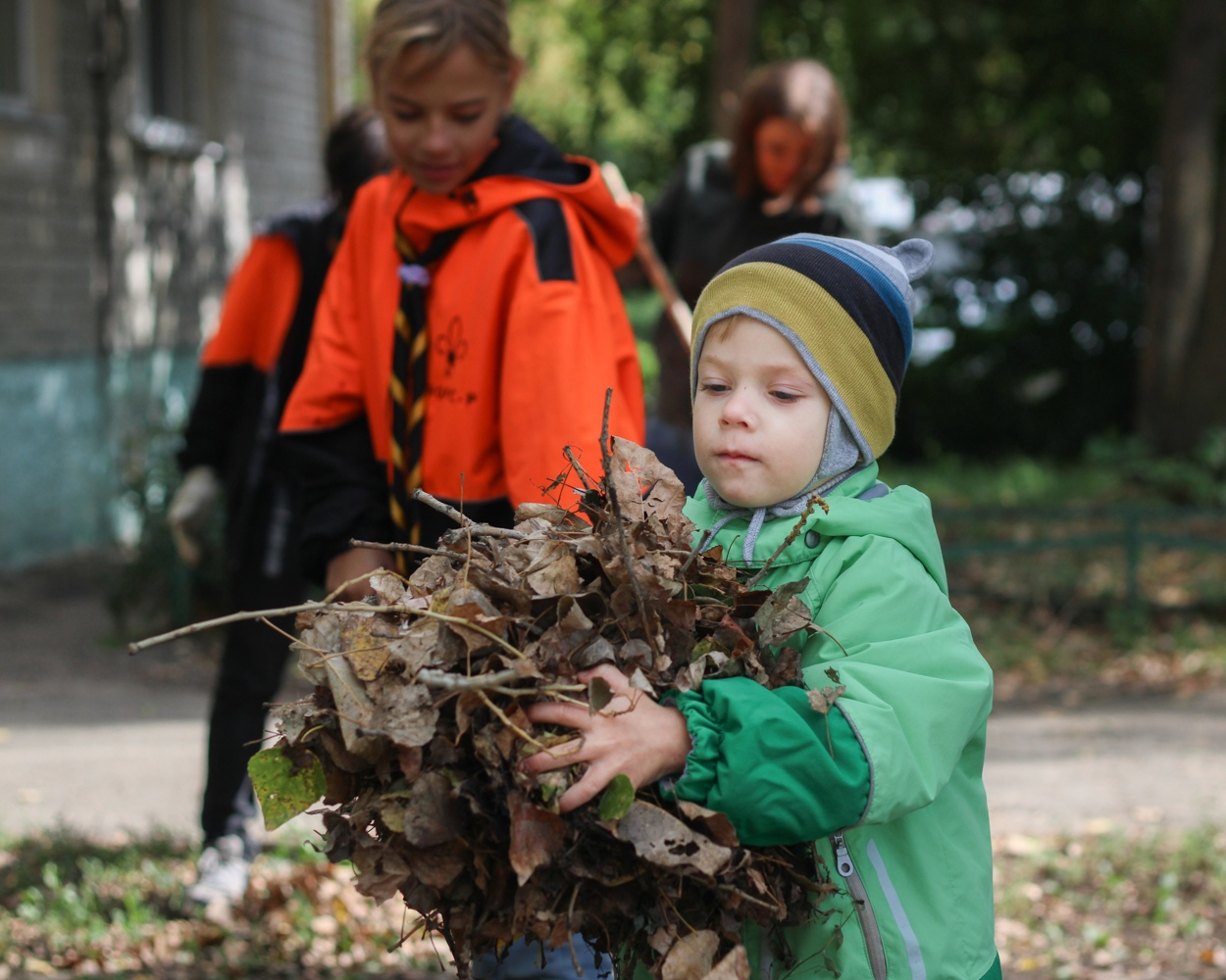 Ко Дню города петровские скауты приурочили очередную экологическую акцию