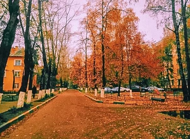 Пахнет осенью... Что-то необыкновенно грустное, пр...