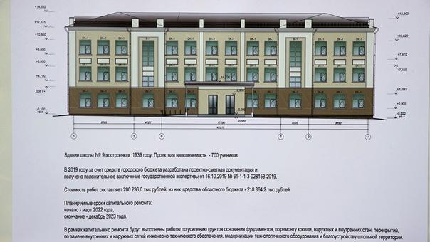 В Новочеркасске деньги на капитальный ремонт девятой школ...