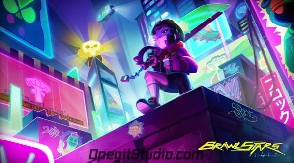 Brawl Stars поддержали долгожданный выход Cyberpunk 2077 в