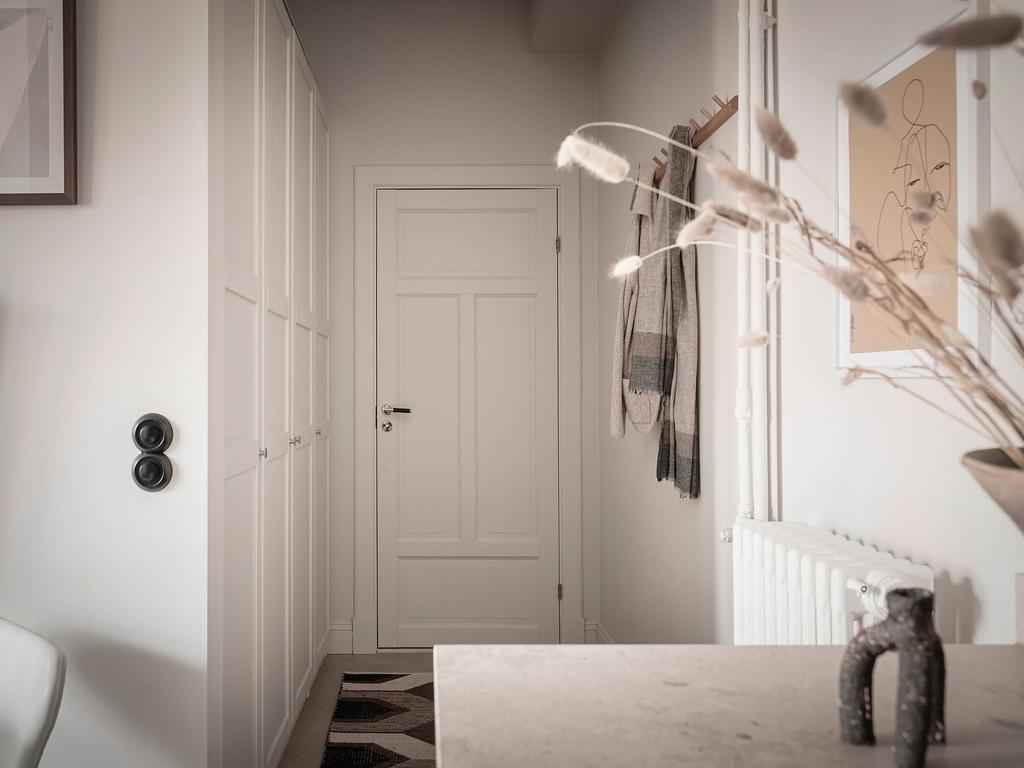 Дизайн скандинавской квартиры-студии 31 кв.