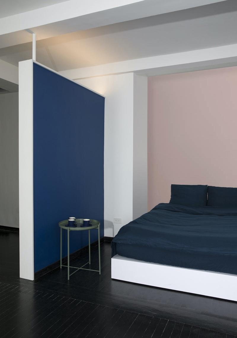 Интерьер квартиры-студии 45 кв.