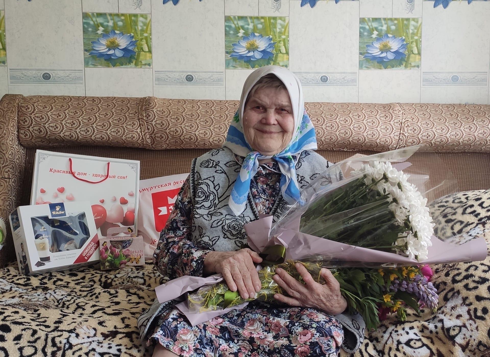 ✨11 июня 90-летний юбилей отмечает жительница деревни