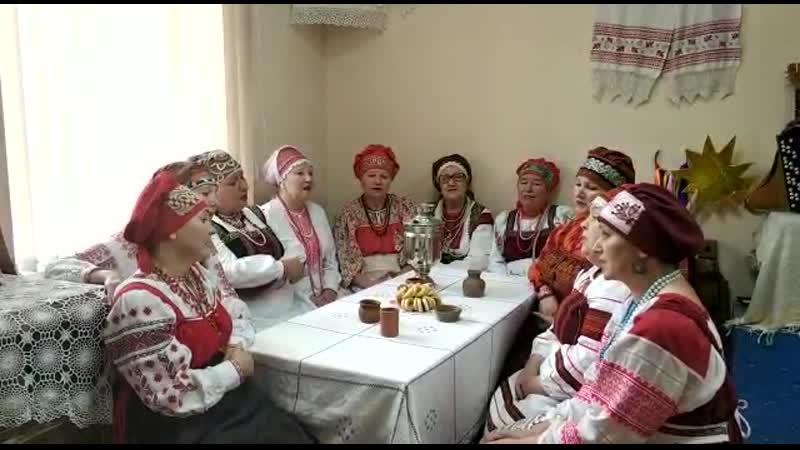 Народный фольклорный ансамбль Хусточка Иглинский р н с Охлебнино Серая шинель