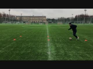 ТОП 5 УПРАЖНЕНИЙ НА ДРИБЛИНГ _ Должен Знать Каждый Футболист