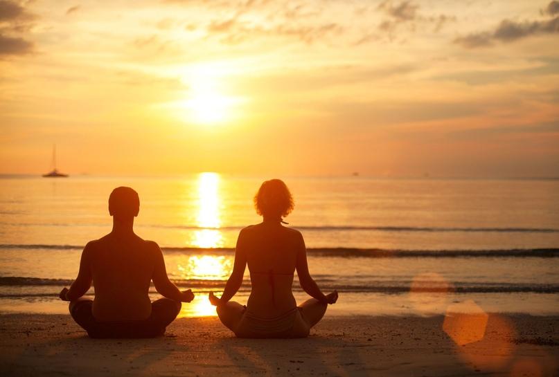 4 позы йоги для эмоционального спокойствия 😌