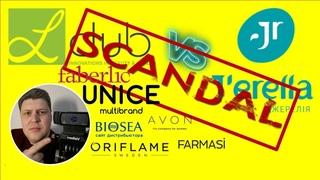 Скандал!!! L'CLUB Л-клуб (Oriflame, Avon, Faberlic, Farmasi, Unice, BioSea) VS J'erelia (Джерелия)