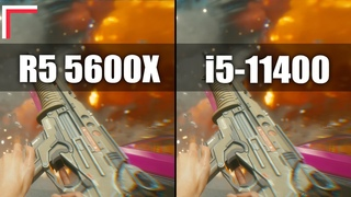 AMD Ryzen 5 5600X vs Intel Core i5-11400 — Test in 10 Games! [1080p, 1440p]