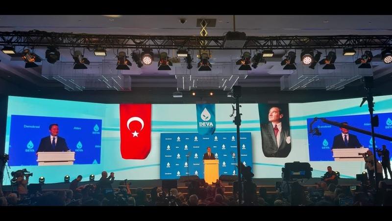 DEVA Partisi'nin Mustafa Kemal vurgulu tanıtım filmi