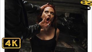 Допрос Наташи Романофф | Мстители | 4K ULTRA HD