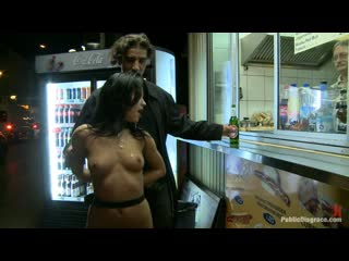 European Goddess Amabella Accepts Anal In A Public location