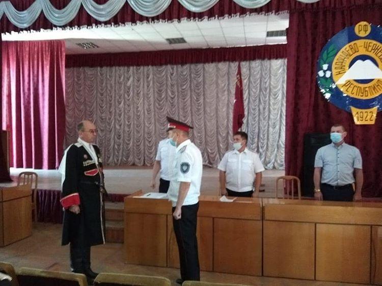 Потомок основателей станиц Зеленчукской и Баталпашинской стал атаманом в КЧР