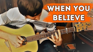 When you believe (W. Houston ft. M. Carey) - guitar cover by Alex Mercy