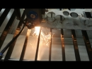 Metal Non-metal laser cutting machine for cutting 2mm Stainless steel, With 150w laser tube.