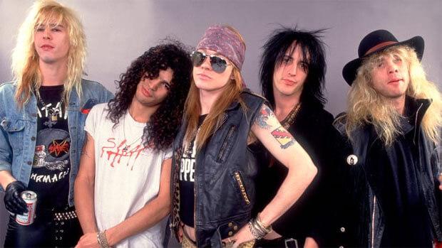 День с Легендой на Эльдорадио: Guns N` Roses - Новости радио OnAir.ru