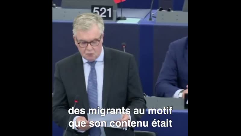 Le député Jean Paul Garraud RN a défendu la liberté d'expression sur internet