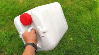 Узнав этот секрет ты больше НИКОГДА не выбросишь пластиковую КАНИСТРУ! НЕ ТРАТЬ деньги, Сделай сам!