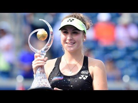 Belinda Bencic VS Simona Halep Highlight Toronto 2015 Final