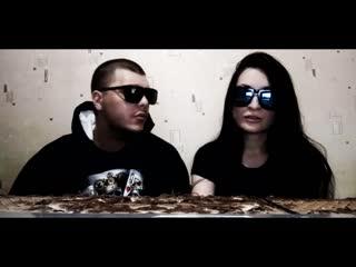 SIMPLE x SKY (Black White Sky) - Видеообращение к MKC 716 и шайке (Live)