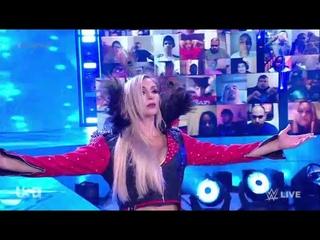 Charlotte Flair Heel Entrance WWE RAW 19th April 2021