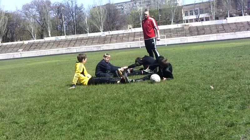 ФАВ Голкіпер Тренування 27.04.2016 3-тя частина м.Запоріжжя Стадіон КПУ
