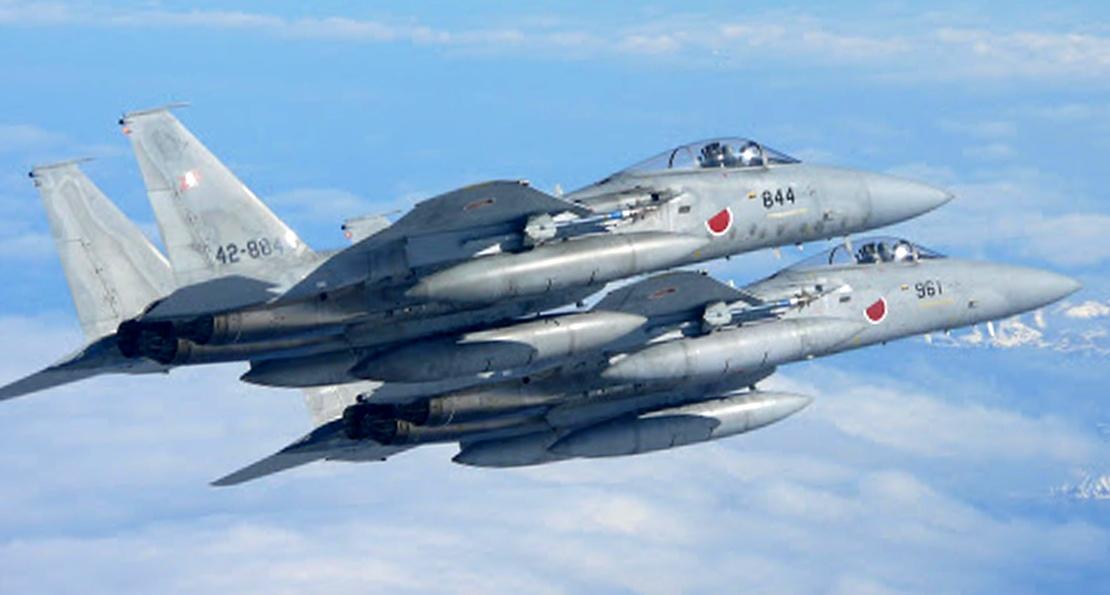 японские истребители