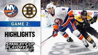 Second Round, Gm 2: Islanders @ Bruins 5/31/21   NHL Highlights
