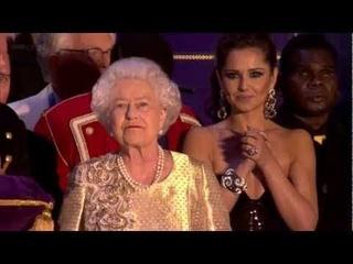 The Queen's Diamond Jubilee Concert [finale & speech] - 4th June 2012 [Historical Speeches TV]