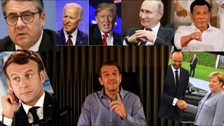 Tagesschlau    Putin Wahl   Trump vs Biden   Duterte   Emmanuel Macron   Gabriel - Tönnies