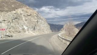 Перевал Чике-Таман весной... Полный проезд (Республика Алтай)