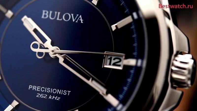 Обзор кварцевых часов Bulova 96B257