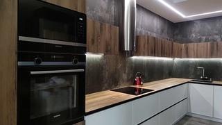 Кухня Нойс из Ламинированного ДСП - Новый реализованный проект Мастер Мебель