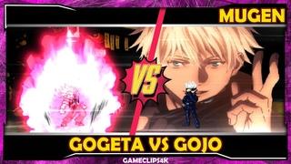 Gogeta Black Vs Gojo Satoru [Hard Fight] MUGEN JUS CHAR